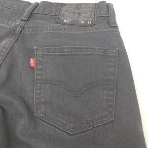 Levi's 511 Slim Fit Men's Jeans Size 28 x 32